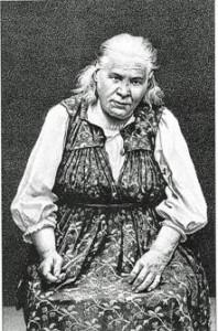 Блаженная Параскева Дивеевская.