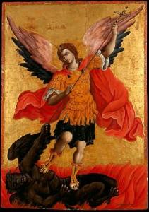 423px-Poulakis_Theodoros_-_The_archangel_Michael_-_Google_Art_Project