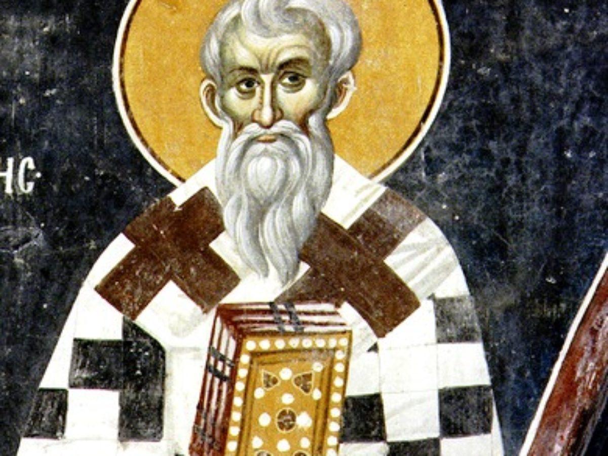 Православный календарь 5 января. Преподобный Нифонт, епископ Кипрский. -  Радио ВЕРА