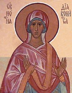 Праведная Нонна, матерь Григория Богослова