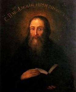 Преподобный Алипий Печерский, иконописец