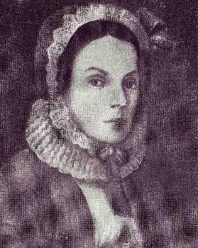Портрет Марии Менделеевой