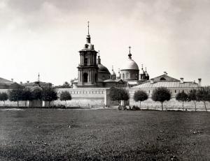 Покровский монастырь, здесь покоятся мощи блаженной Матроны Московской.