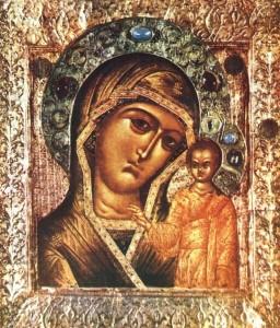 Православный календарь 4 ноября. Казанская икона Божией Матери.