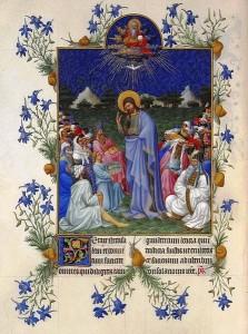 447px-Folio_168v_-_The_Feeding_of_the_Multitude