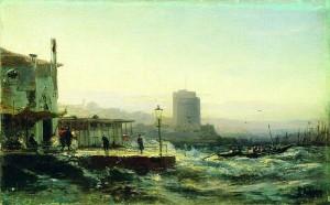 800px-Баку._Набережная._1861