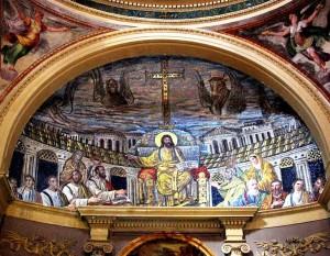 800px-Apsis_mosaic,_Santa_Pudenziana,_Rome_photo_Sixtus_enhanced_TTaylor
