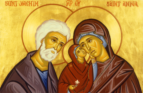 Иоаким и Анна, Пресвятая Богородица