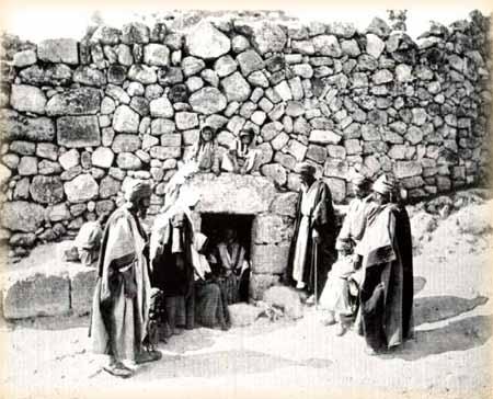 Вифания. Гробница Лазаря Четверодневного. 1893 г.