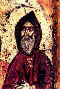 Преподобный Антоний Киево-Печерский.