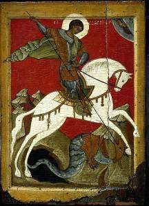 Жития святых. Святой Великомученик Георгий Победоносец.