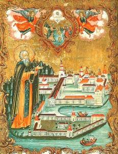 Преподобный Нил Столобенский .