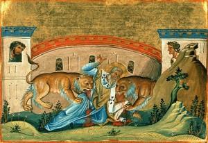 Священномученик Игнатий Богоносец.