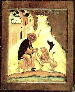 Жития святых. Преподобный Герасим Иорданский.