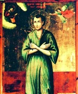 Святой Иоанн Русский.