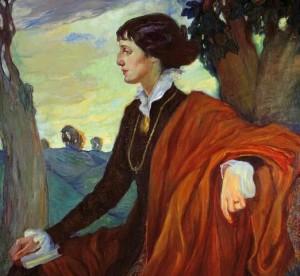 Olga_kardovskaya_portret_ahmatovoy_1914_szh_16