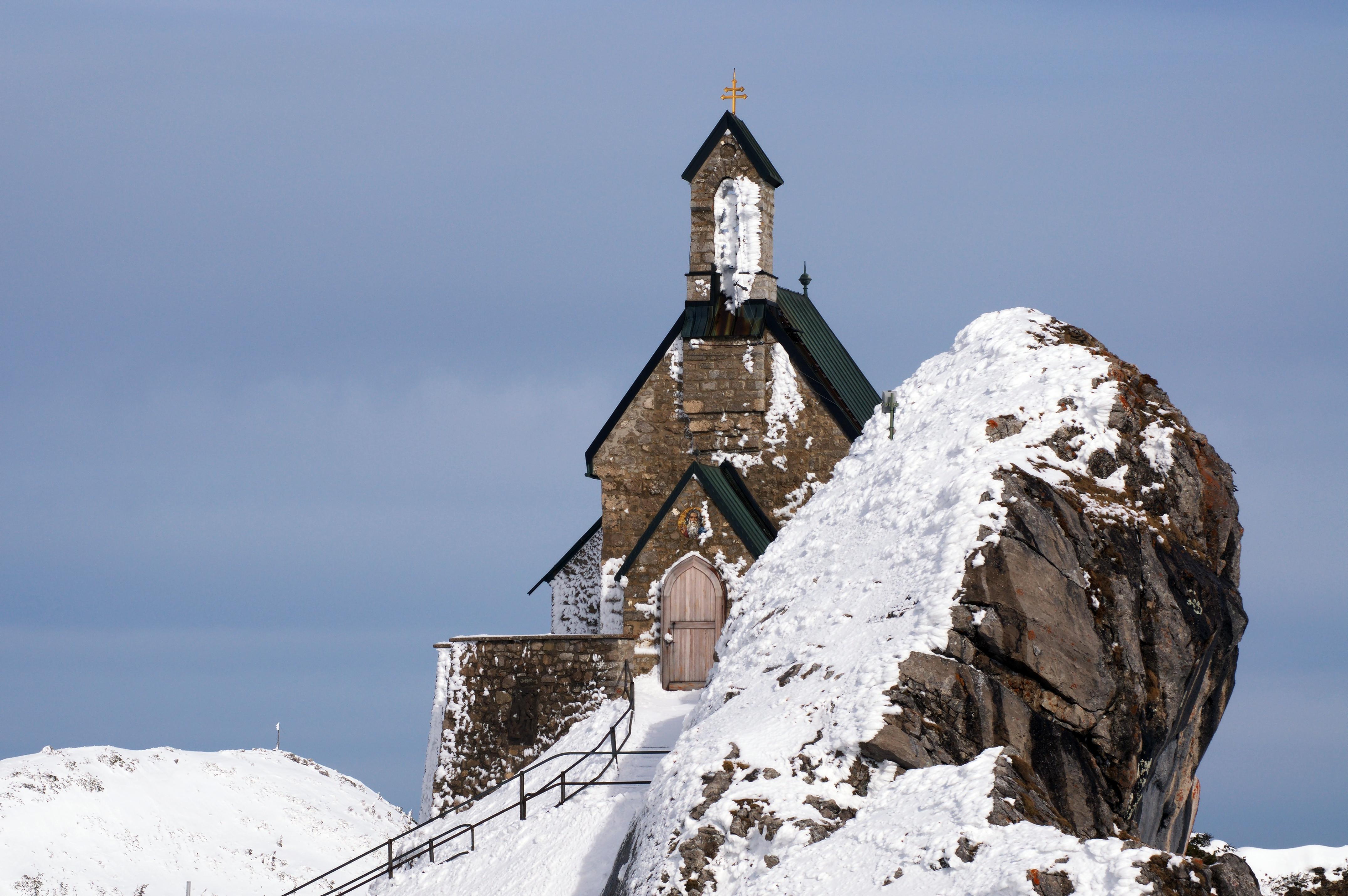 Simon Koopmann. Часовня на вершине Вендельштайна (Бавария, Германия).