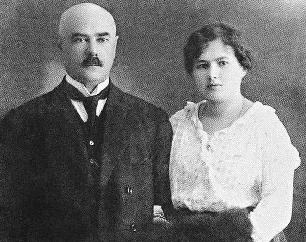 Антон Деникин и Ксения Чиж