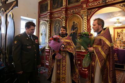 Полковник запаса УИС Дорофеев А.Е.; иерей Григорий Михневич; протоиерей Андрей Верещагин