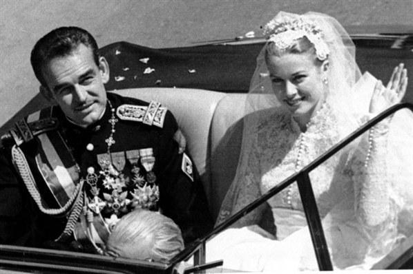 Принц Ренье и Грейс Келли