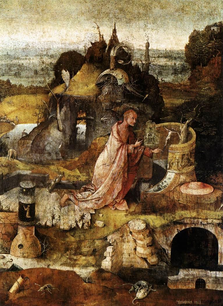 Иероним Босх Святые отшельники, 1505 Дерево, масло. 86,5×60 см Дворец дожей, Венеция