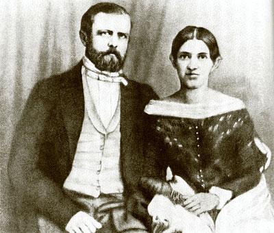 Иоганна Путкаммер и Отто Бисмарк
