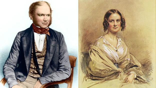 Чарльз и Эмма Дарвин