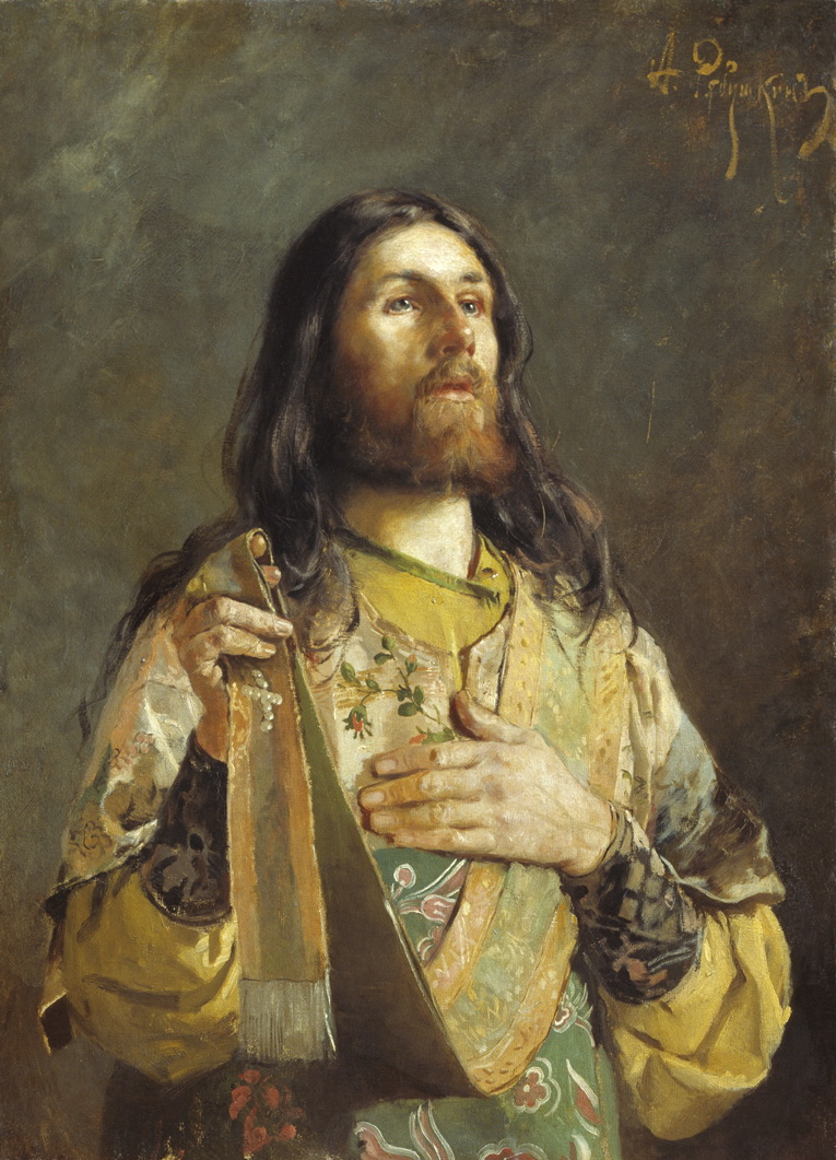 Андрей Рябушкин. Диакон. 1888.