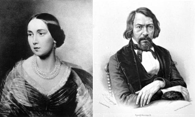 Алексей и Екатерина Хомяковы