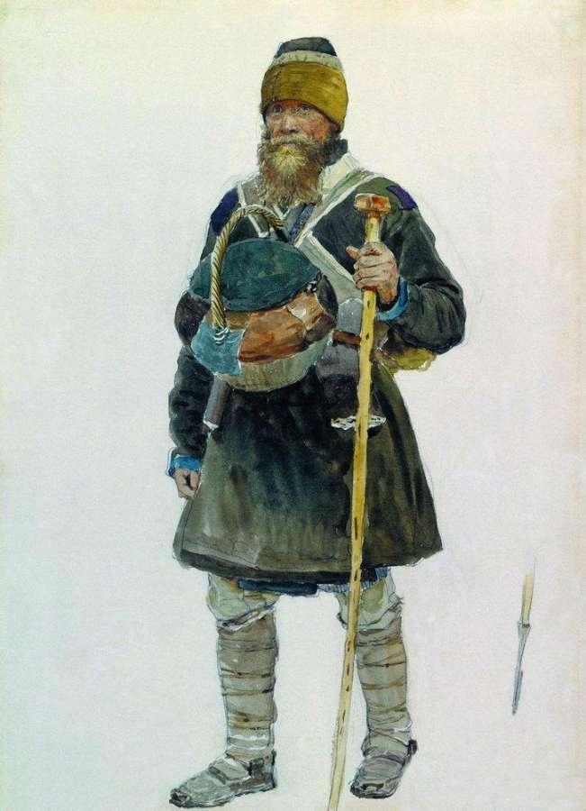 Илья Ефимович Репин. Паломник.