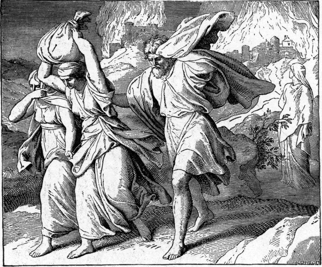 Бегство из Содома и Гоморры