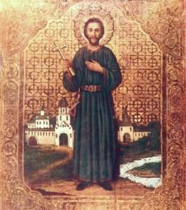Святой_мученик_Иоанн_Казанский_(икона_XIX_в.)