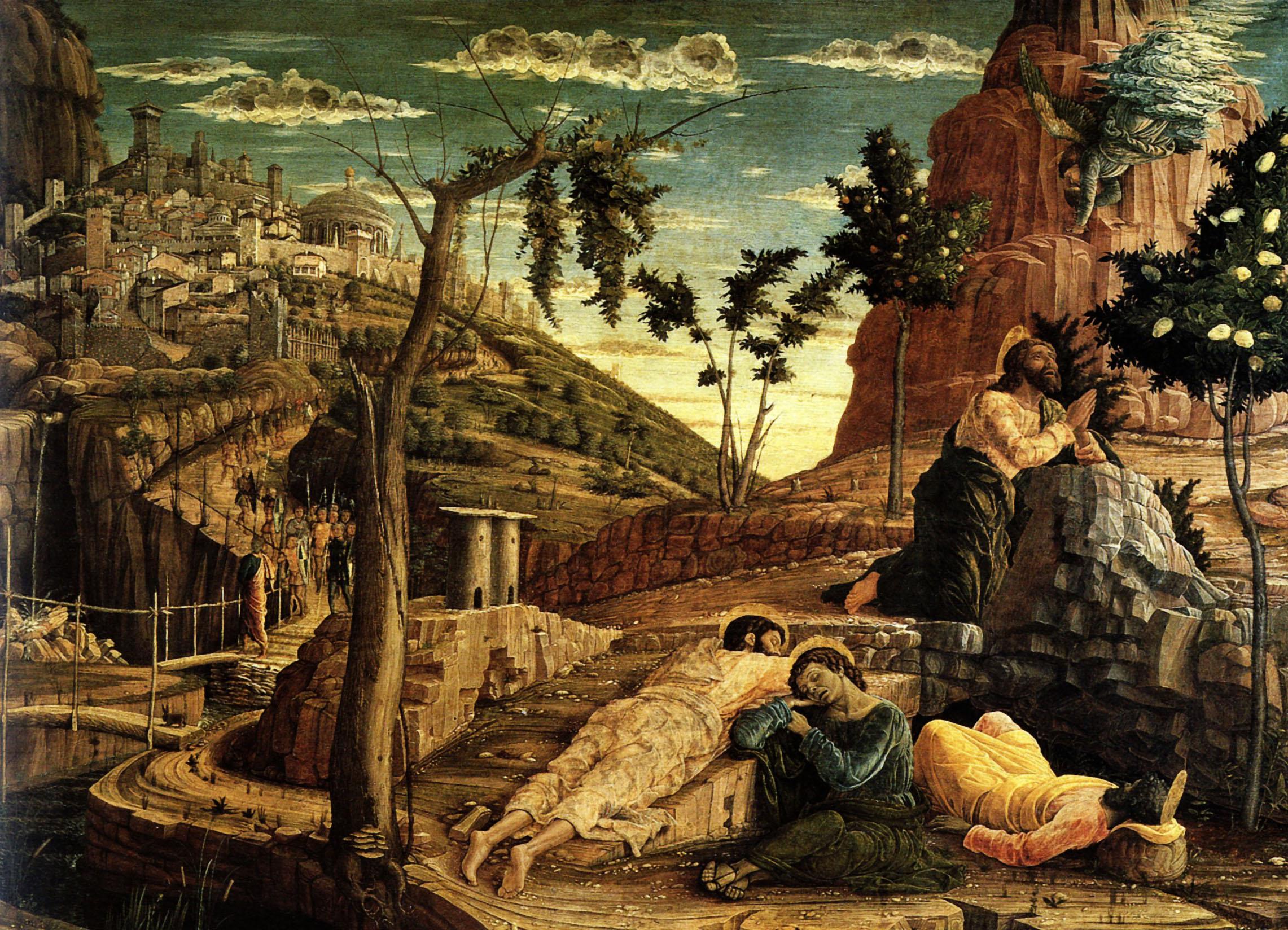 Моление о чаше. Андреа Мантенья, 1431 – 1506 гг.
