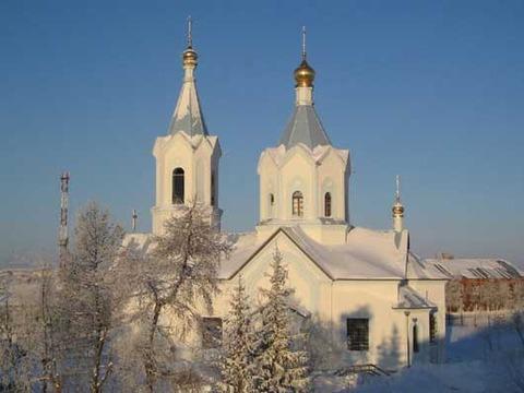 Петропавловская церковь в Салехарде