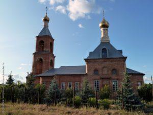 Казанская церковь в селе Новый Буян Красноярского района