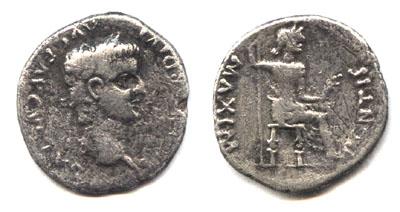 Динарий кесаря. Первоисточник: Кесарю кесарево.