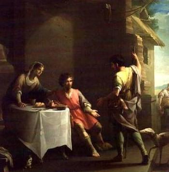 Исав продает Иакову право первородства за чечевичную похлебку, Веласкес, 1800