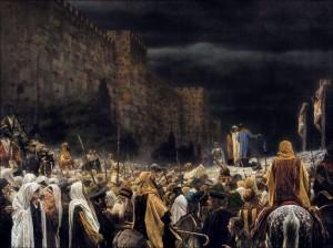 Распятие на кресте у римлян. Василий Верещагин.