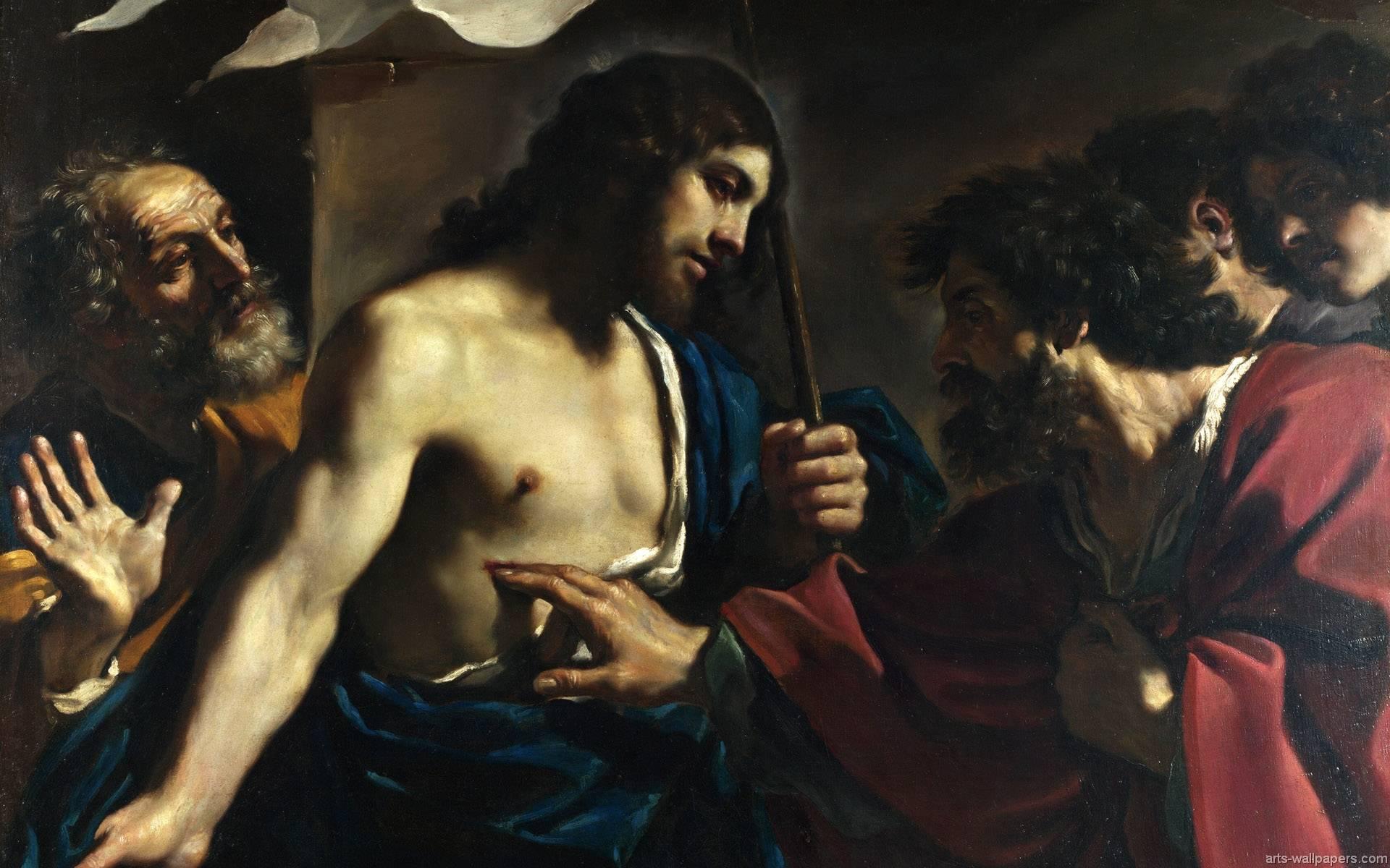 Недоверчивость апостола Фомы. Джованни Франческо Гверчино.