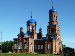 Покровский храм село Покровка
