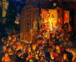 Закладка Павла Крючкова. Нина Павлова «Пасха Красная».