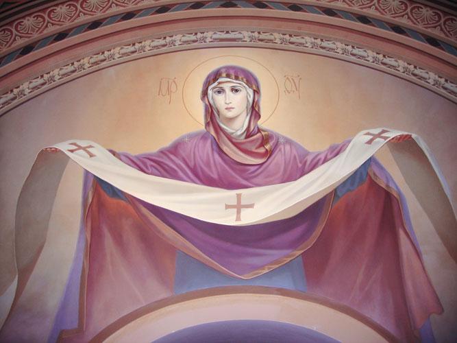 Омофор Пресвятой Богородицы