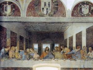 Тайная вечеря. Леонардо да Винчи. 1495—1498 г.