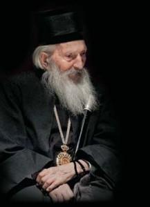 Закладка Павла Крючкова. Патриарх Сербский Павел «Мудрое слово…».