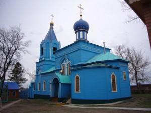 Святой источник и Троицкая церковь в селе Ташла