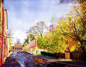 Bolshaya_Yakimanka._Church_of_St._John_the_Warrior._Moscow.