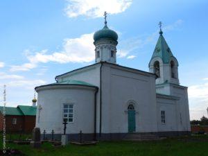 Храм Александра Свирского село Степное Дурасово