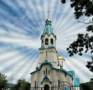 Южно-Сахалинск. Храм Воскресения Христова.