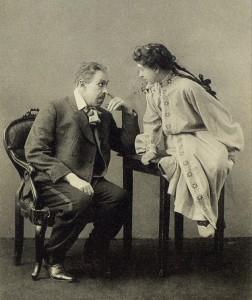 Константин Станиславский и Мария Лилина