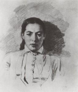 Василий Поленов и Наталья Якунчикова